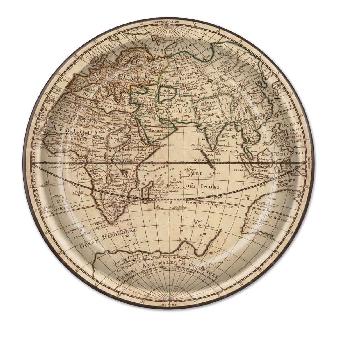 Around The World Plates