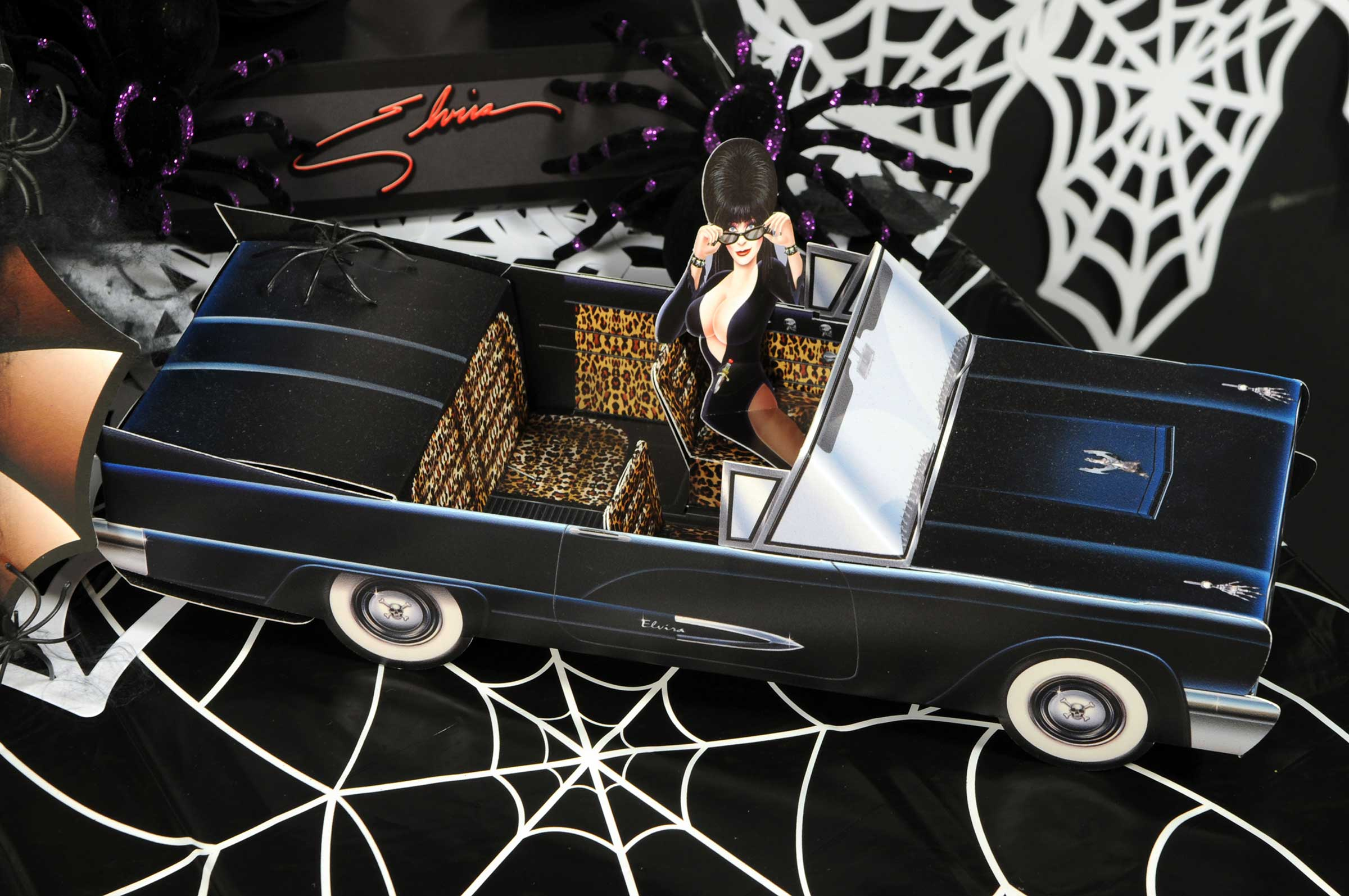 Elvira Macabre Mobile Centerpiece