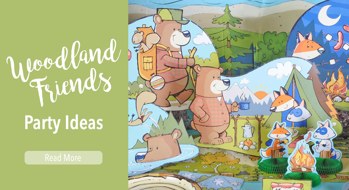 Woodland Friends Slider
