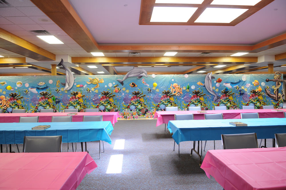 under the sea banquet room