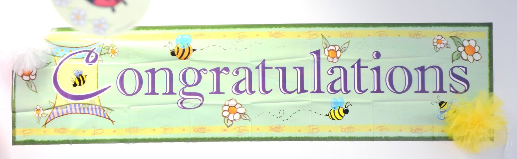 baby shower congratulations sign
