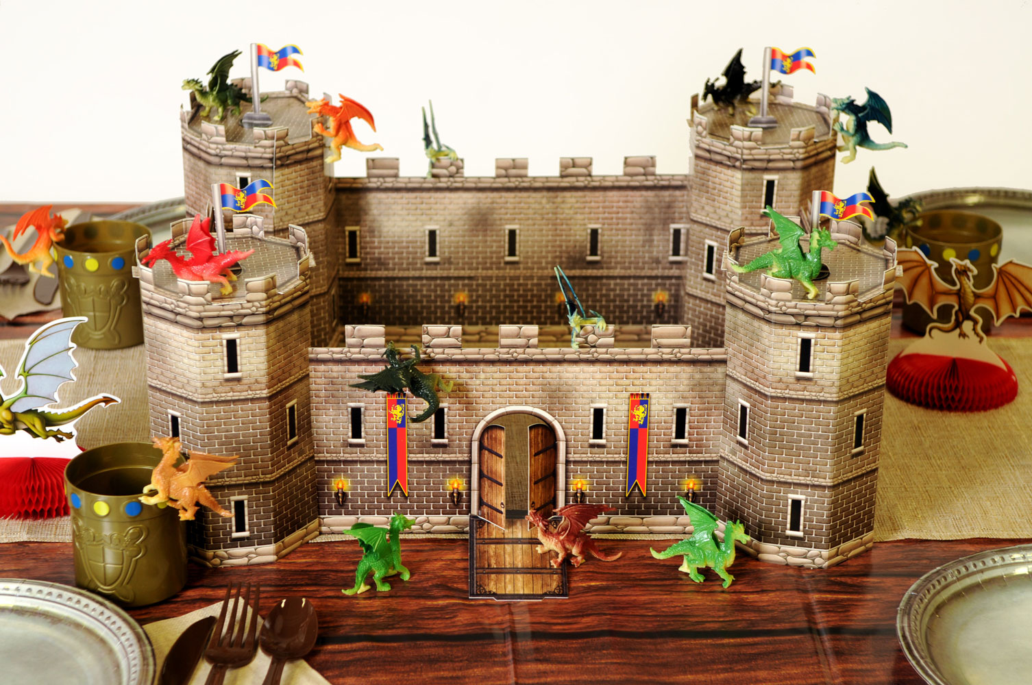 Fantasy Party Theme Castle Decoration