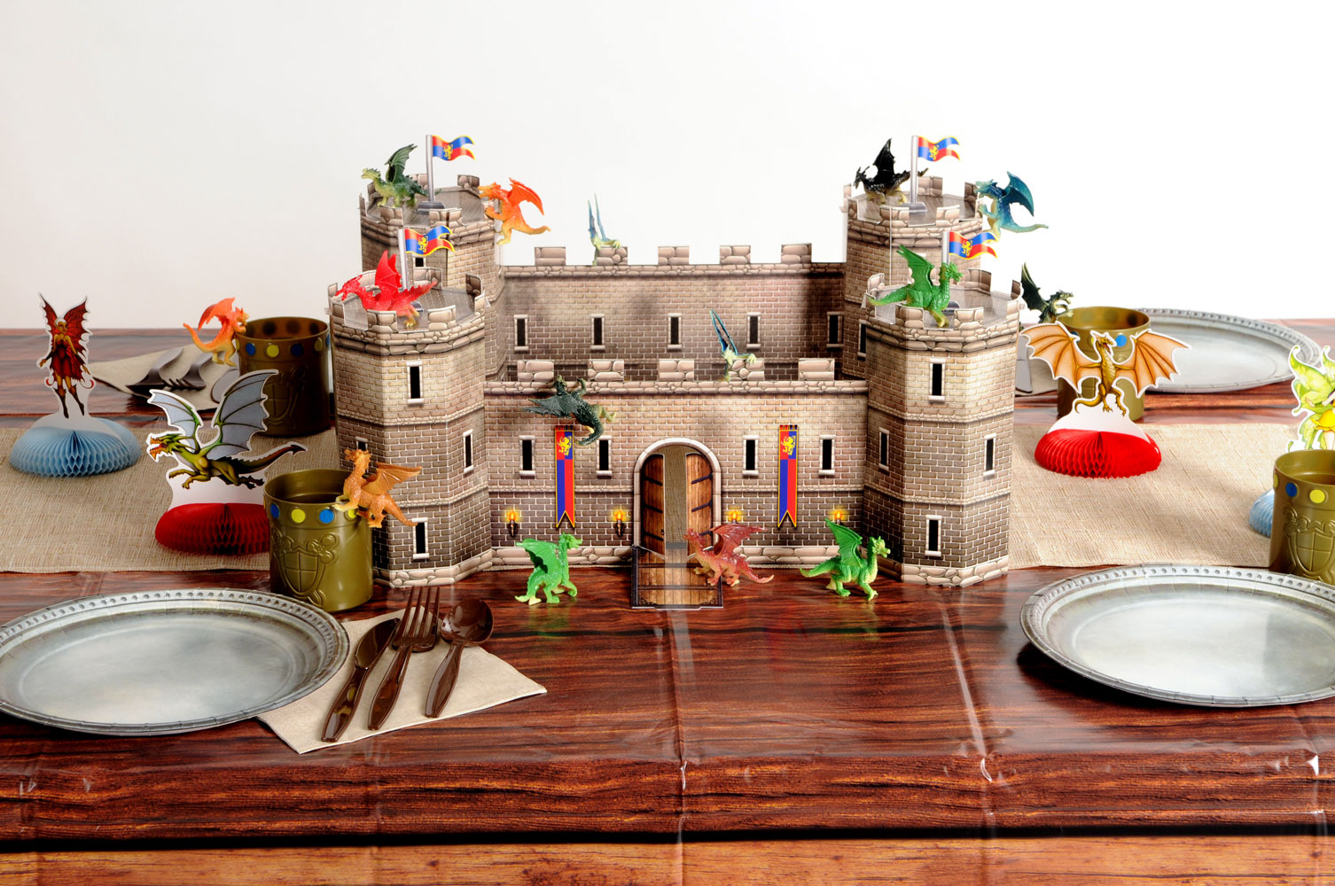 Fantasy Party Theme Castle