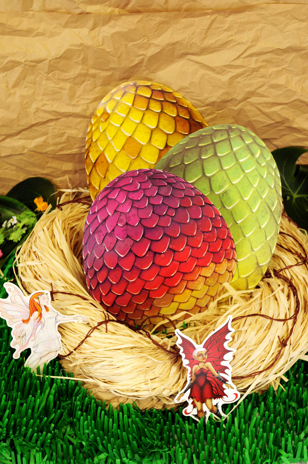 Fantasy Party Theme Dragon Eggs