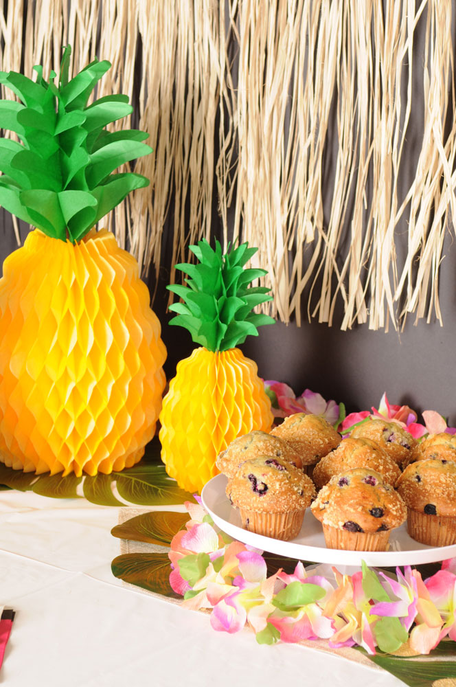 Palm Leaves & Pineapples Muffins