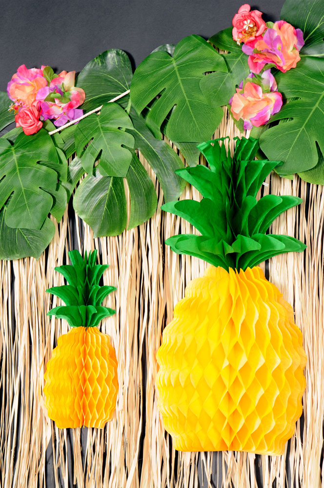 Palm Leaves & Pineapples Wall Decoration