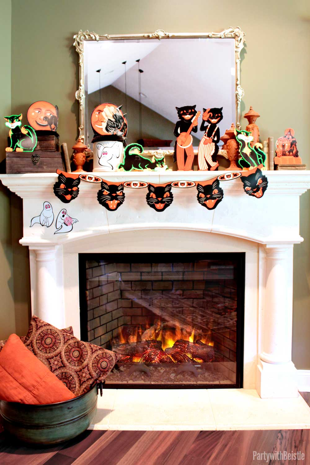 halloween home decor how to use beistle s vintage decorations as home 30953