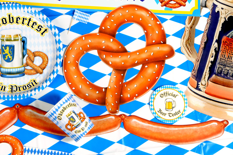 Oktoberfest Food Decorations