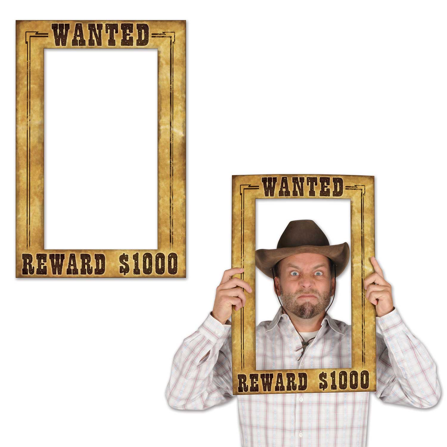 Western-Wanted-Photo-Fun