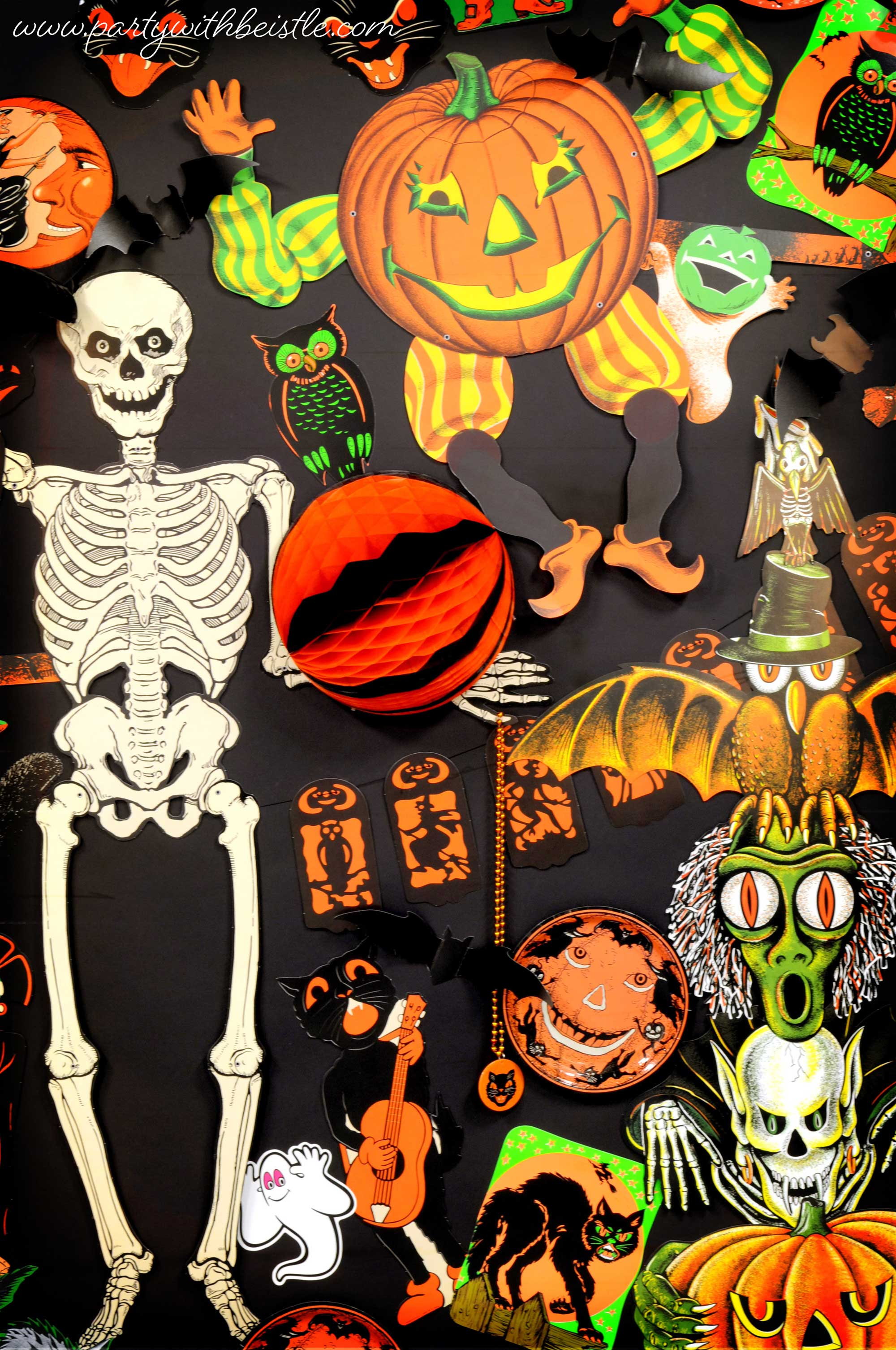 Vintage Halloween Favorite Items