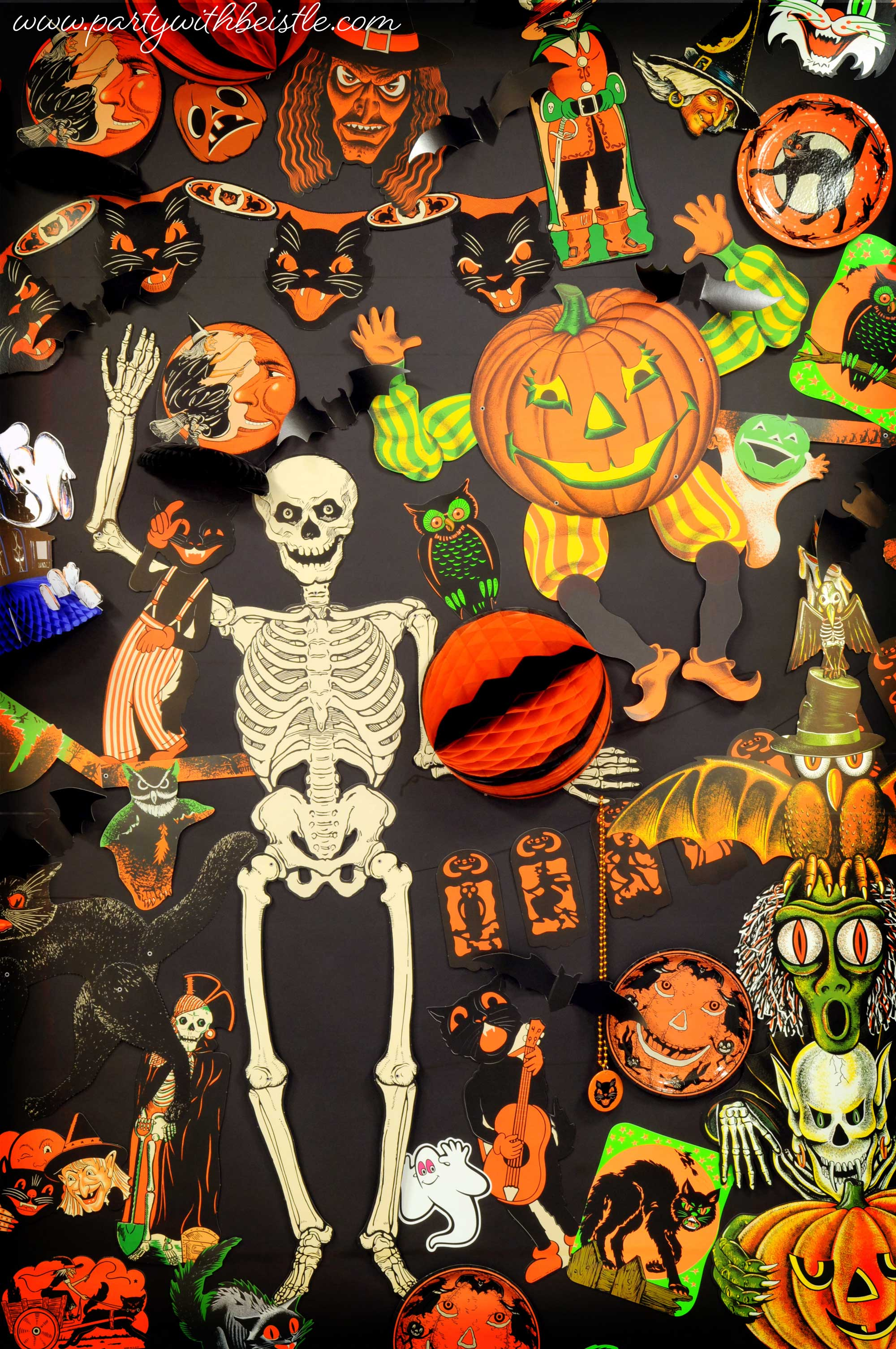 Vintage Halloween Items