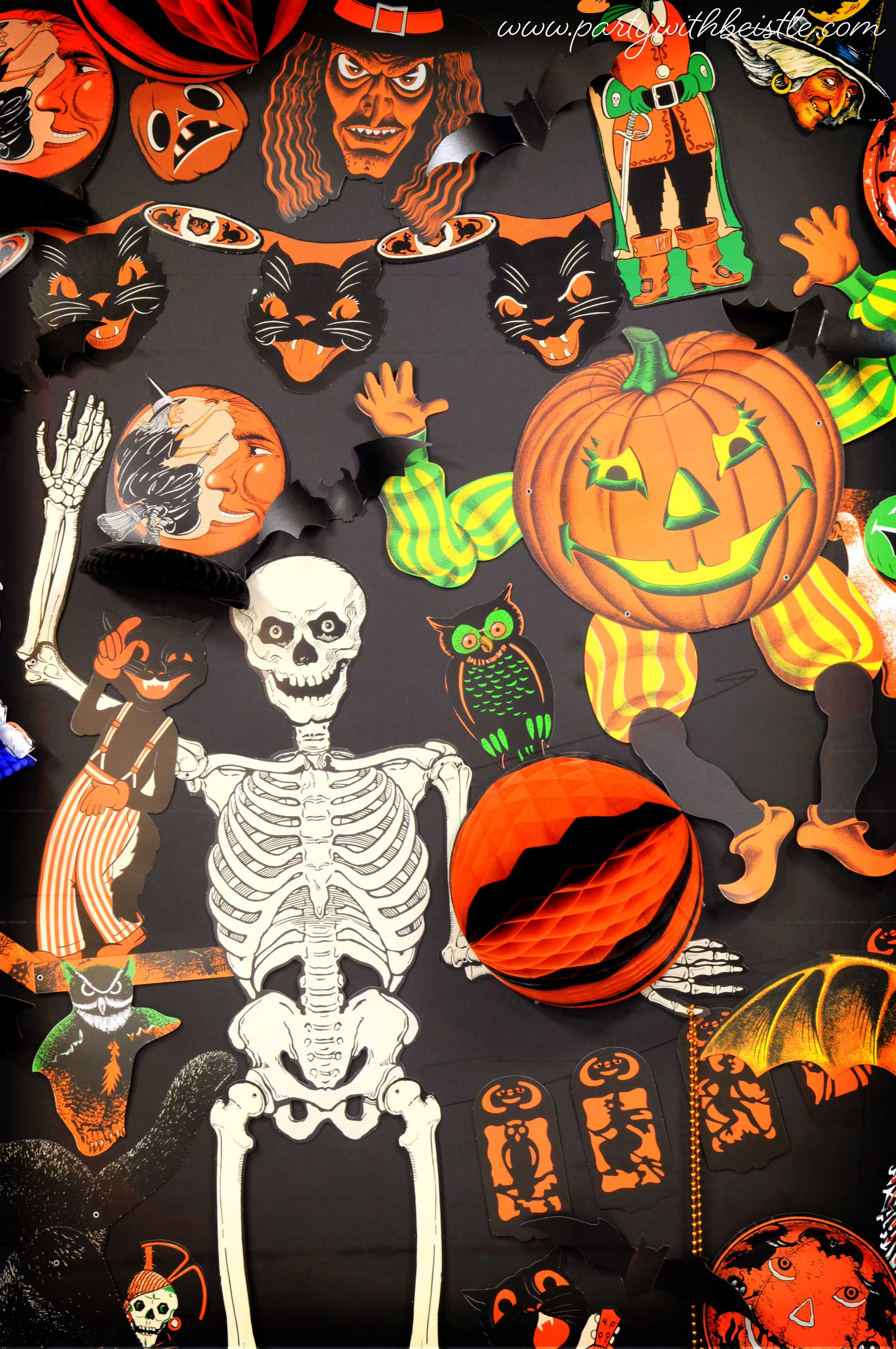 Beistle S Wall Of Spook Tacular Greatness
