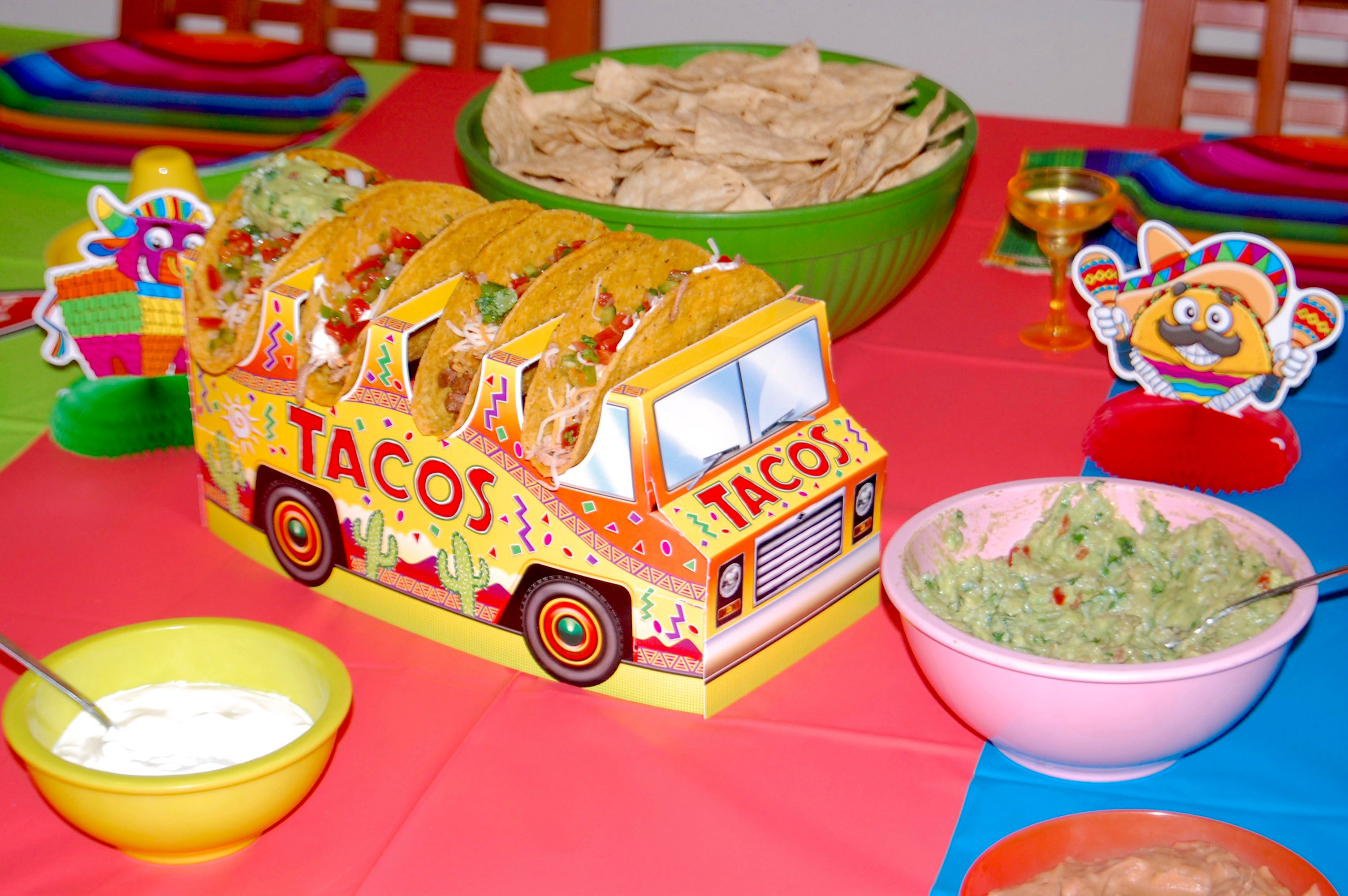 Taco Night Centerpiece